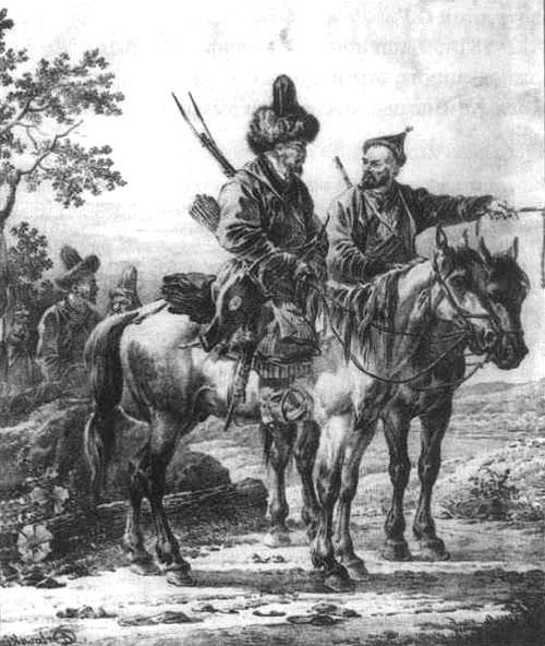 Башкирские конники