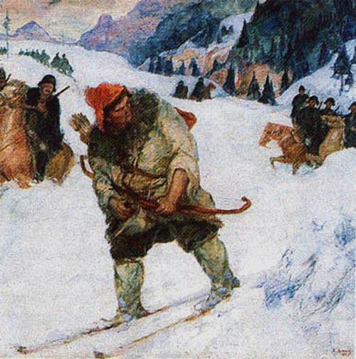 Салават Юлаев попадает в плен, картина