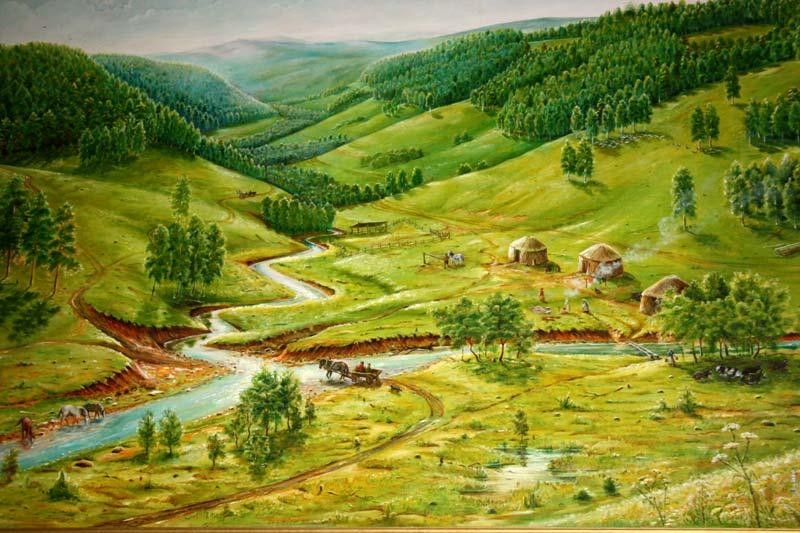 Деревня Текеево - родина Салавата Юлаева