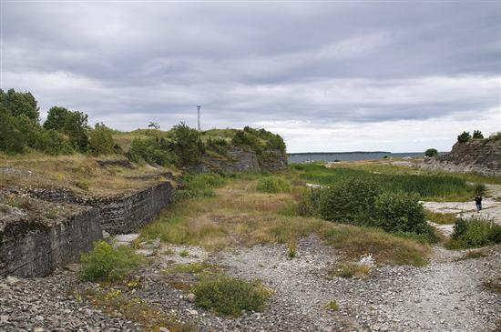 Место, где когда-то была крепость Рогервик (Балтийский порт, Палдиски)
